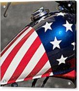 American Motorcycle Acrylic Print