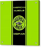 American Muscle - Mopar II Acrylic Print