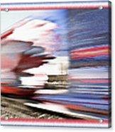 American Rail Acrylic Print