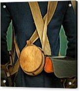 American Revolutionary Soldier Acrylic Print