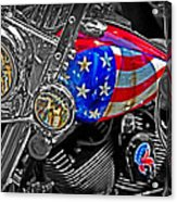American Ride Acrylic Print