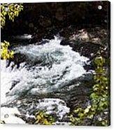 American River's Levels Acrylic Print