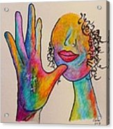 American Sign Language . . .  Mother Acrylic Print