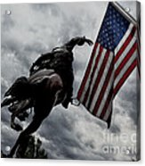 American Spirit Acrylic Print