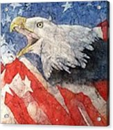 American Strength Acrylic Print