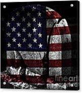 American Tombstone Acrylic Print