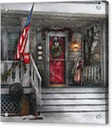 Americana - A Tribute To Rockwell - Westfield Nj Acrylic Print by Mike Savad
