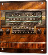 Americana - Radio - Remember What Radio Was Like Acrylic Print