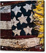 Americana - Stars And Stripes Acrylic Print by Dean Harte