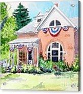 Americana Acrylic Print