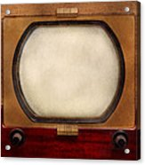Americana - Tv - The Boob Tube Acrylic Print