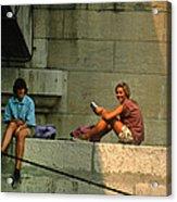 Americans In Paris Acrylic Print