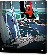 America's Cup 2013 Poster Acrylic Print