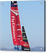 America's Cup Emirates Team New Zealand Acrylic Print