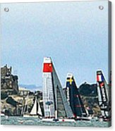 America's Cup World Series Acrylic Print