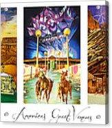 America's Great Venues Acrylic Print by Joshua Morton