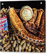 America's Pastime Acrylic Print by Ken Smith