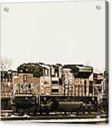 America's Railway Acrylic Print