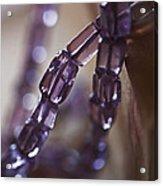 Amethyst  Acrylic Print by Rona Black