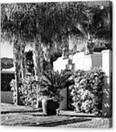 Amir Drive Bw Marrakesh Palm Springs Acrylic Print