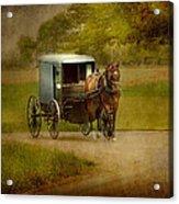 Amish Buggy Ride Acrylic Print