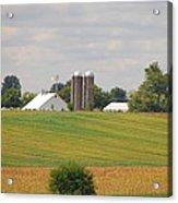 Amish Farm 2 Acrylic Print