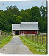 Amish Farm Acrylic Print