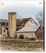Amish Farm In Etheridge Tennessee Usa Acrylic Print by Kathy Clark