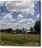 Amish Farm Landscape Acrylic Print
