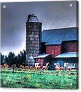 Amish Farming 2 Acrylic Print