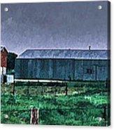 Amish Farming 3 Acrylic Print