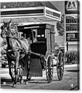 Amish Gas Acrylic Print