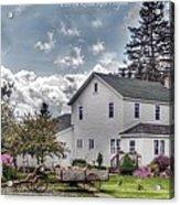 Amish Homestead Acrylic Print