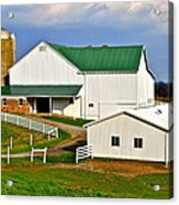 Amish Living Acrylic Print
