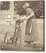 Amish Times Acrylic Print