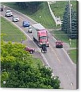 Amish Traffic Jam Acrylic Print