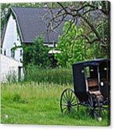Amish Way Of Life Acrylic Print