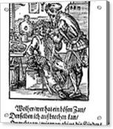 Amman: Dentist, 1568 Acrylic Print