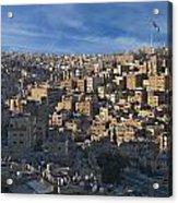 Amman Down Town Acrylic Print