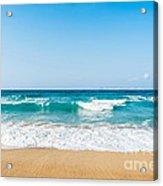 Amnissos Beach Acrylic Print