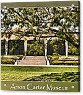 Amon Carter Museum Acrylic Print