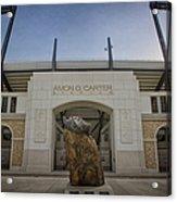 Amon G Carter Stadium At Tcu Acrylic Print