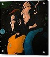 Among Stars Acrylic Print