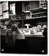 Amor In A Madrid Bar - Spain Acrylic Print