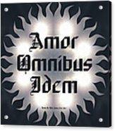 Amor Omnibus Idem Acrylic Print