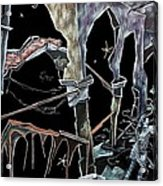 Amore - Dark Fantasy Drawings And Illustration - Dibujo Surrealista  Acrylic Print