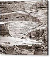 Amphitheater In Petra Acrylic Print