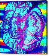 Amplified Flower Acrylic Print
