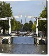 Amsterdam - Drawing Bridge Acrylic Print