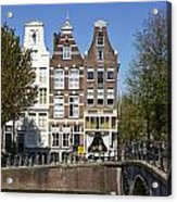 Amsterdam - Old Houses At The Keizersgracht Acrylic Print